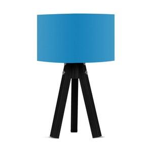 Lampa stołowa z niebieskim abażurem Kate Louise Blackie