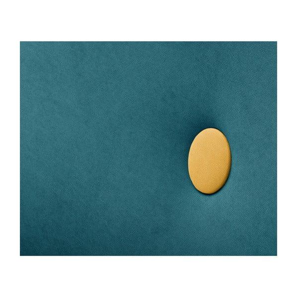 Turkusowozielony szezlong lewostronny Scandi by Stella Cadente Maison Lounge
