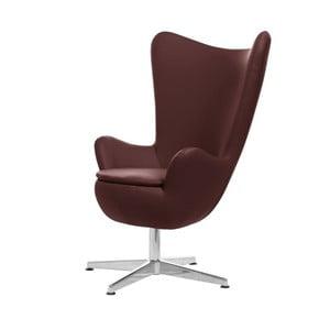 Bordowy fotel obrotowy My Pop Design Gentils