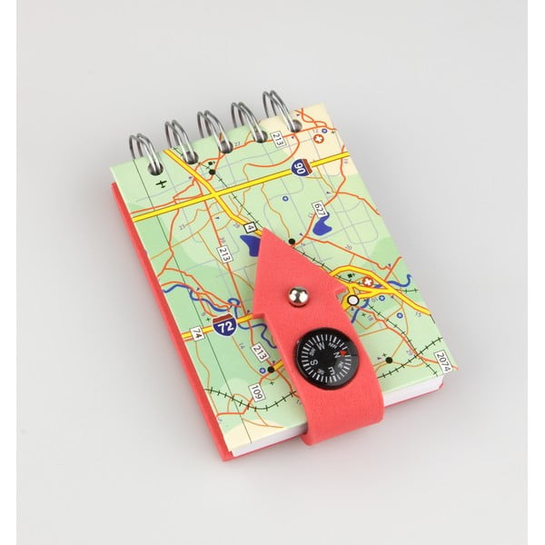 Bloczek Thinking gifts Compass Notes Geographical