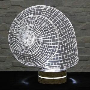 Lampa 3D stołowa Snail