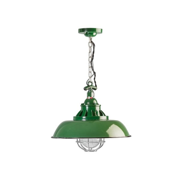 Zielona lampa wisząca ETH Consenza