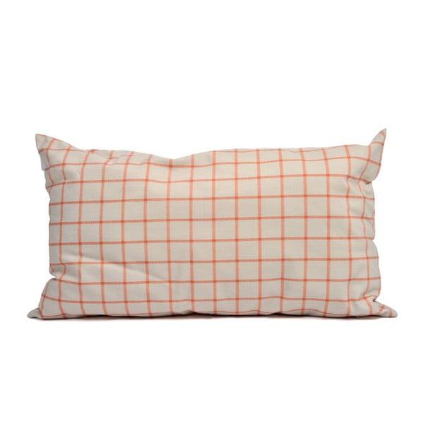 Poduszka z wypełnieniem Wind 35 x 60 cm, pomarańczowa/beżowa
