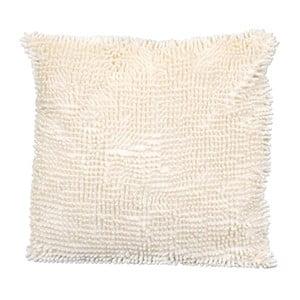 Kosmata poduszka, beżowa
