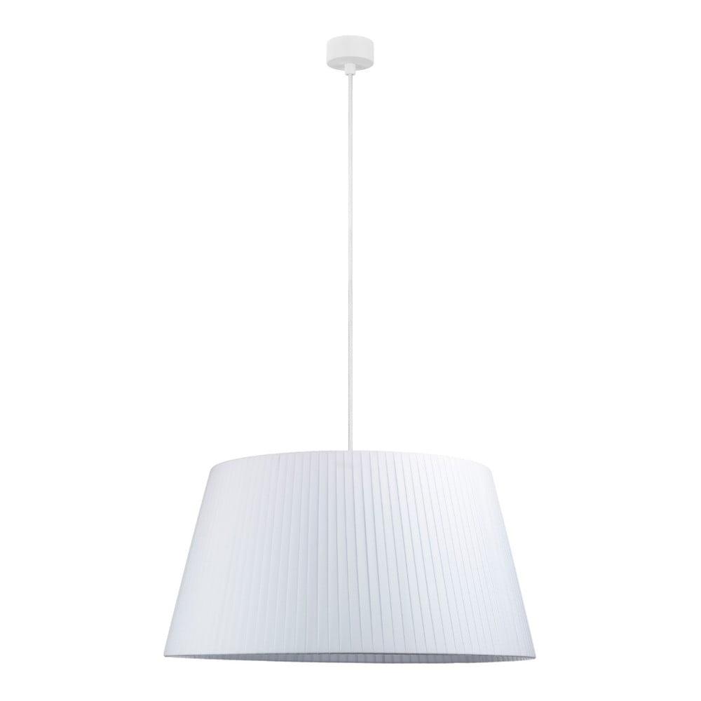 Biała lampa wisząca z białym Sotto Luce Kami, ⌀54cm