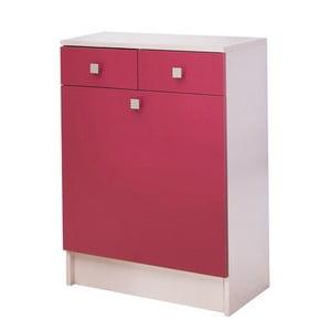 Różowa szafka na bieliznę 13Casa Click
