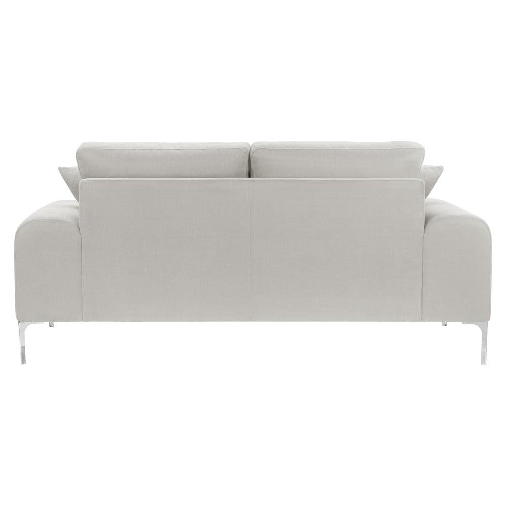 kremowa sofa 2 osobowa corinne cobson home dillinger bonami. Black Bedroom Furniture Sets. Home Design Ideas