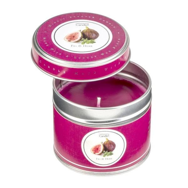 Świeczka o zapachu fig i ziół zamknięta w puszce Copenhagen Candles, czas palenia 32 godz.