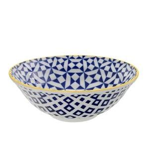 Porcelanowa miska Geo Noodle Geometric No2, 21x7,8 cm