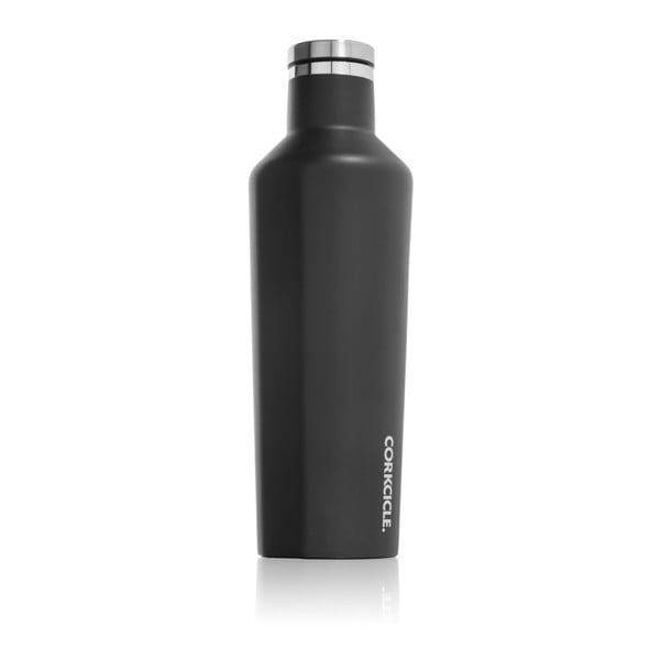 Butelka termiczna Root7 Matte Black Medium, 473 ml