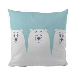 Poduszka   Three Polar Friends, 50x50 cm