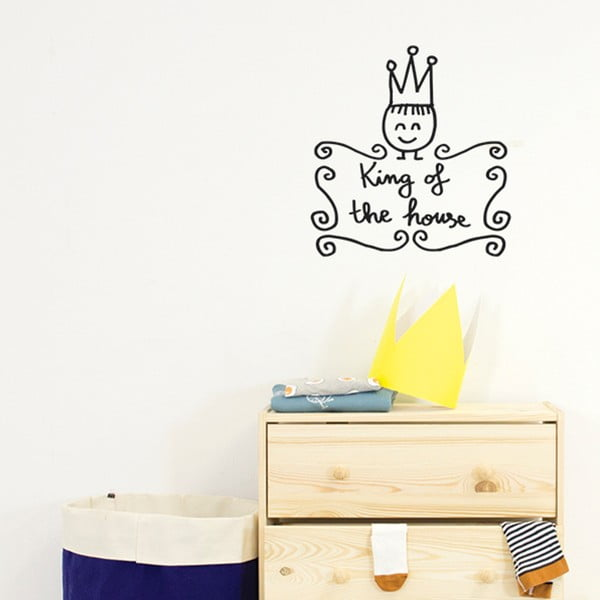 Naklejka Chispum King Of The House