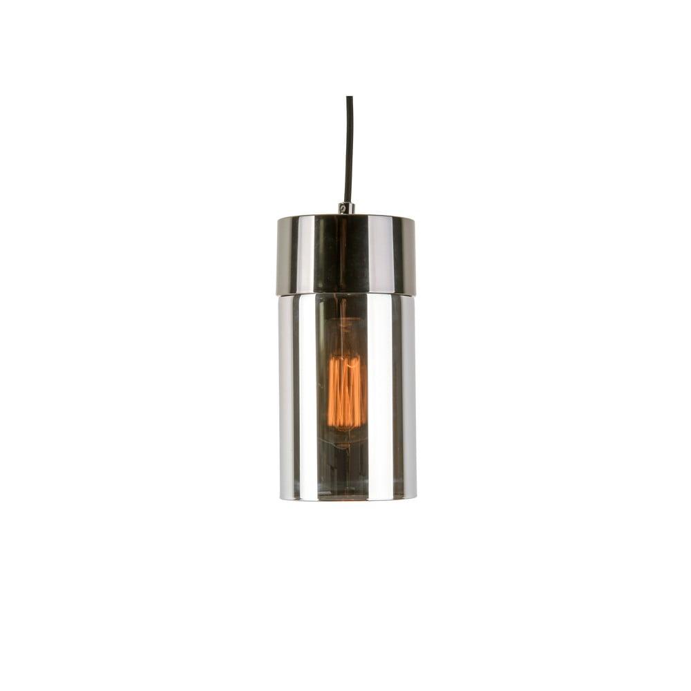 Lampa wisząca w metalicznym kolorze z lustrzanym połyskiem Leitmotiv Lax