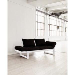 Sofa rozkładana Karup Edge White/Black