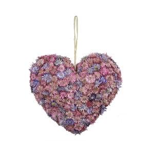 Serce dekoracyjne z kwiatów Ego Dekor