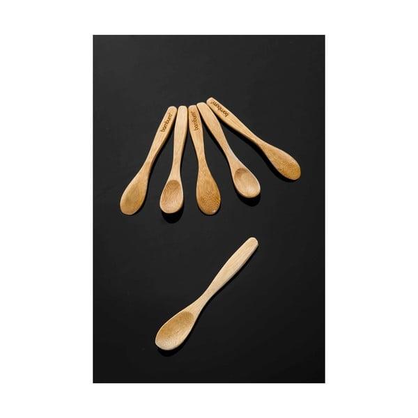Zestaw 6 bambusowych łyżek Bambum Tai Spoon