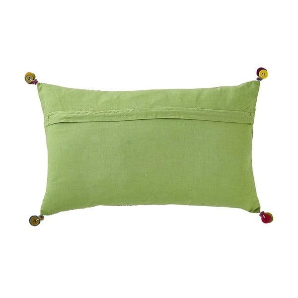 Poduszka z wypełnieniem Fragance Green, 30x50 cm