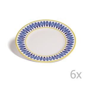 Zestaw 6 talerzyków Toscana Pienza, 21.5 cm