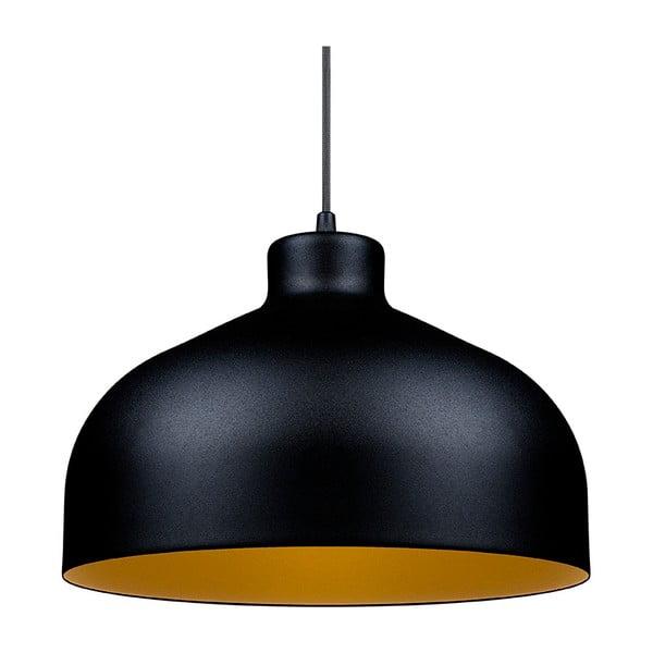 Czarno-złota lampa wisząca Loft You B&B, 44 cm