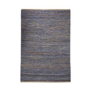 Dywan z konopi Coastal Natural/Blue, 160x230 cm