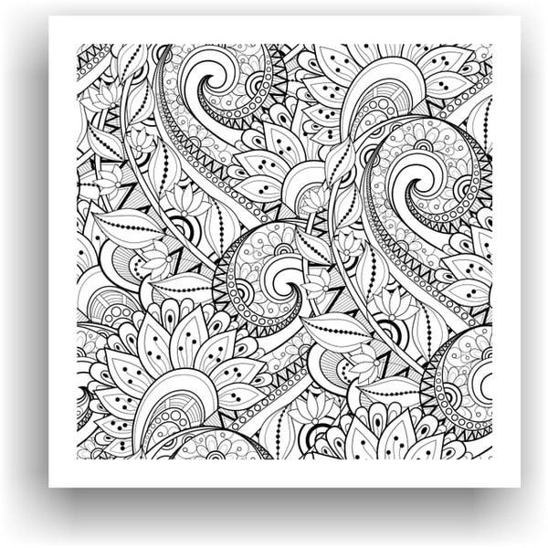Obraz do kolorowania 61, 50x50 cm