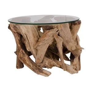 Stolik z drewna tekowego House Nordic Grand