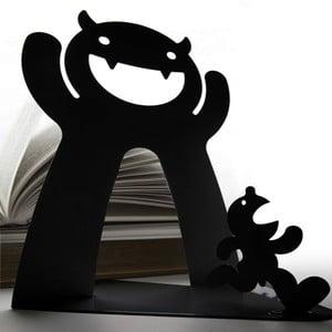 Podpórka do książek Mr. P Bookend, czarna