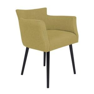 Żółty fotel BSL Concept Adam