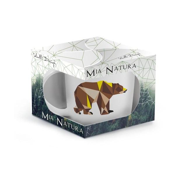 Porcelanowy kubek Wild Bear, 370 ml