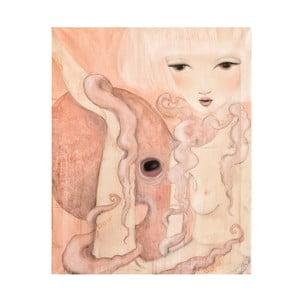 Plakat autorski: Léna Brauner Oktopus, 47x60 cm