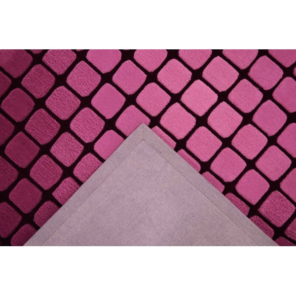 Dywan Casablanca Square 120x180 cm, różowy
