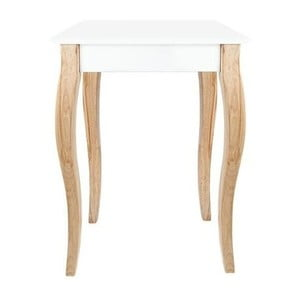 Biała konsola Ragaba Dressing Table, 65x74 cm