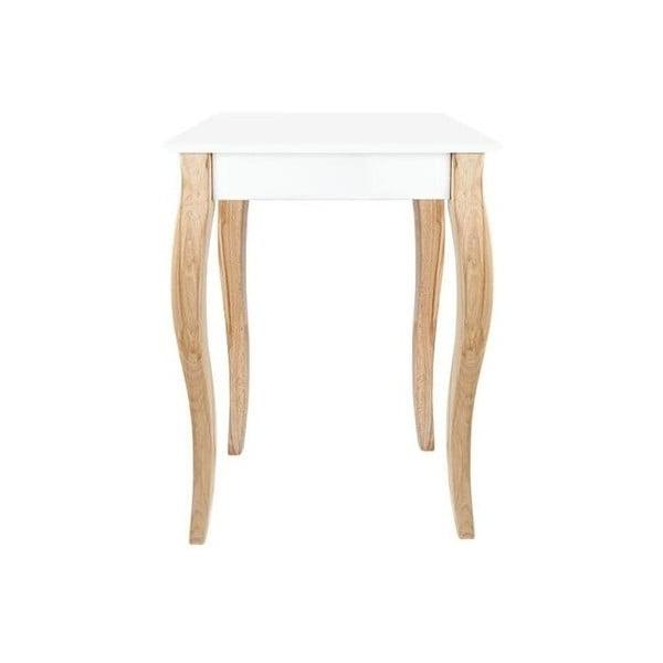 Biała konsola Ragaba Dressing Table, 65x74 cm