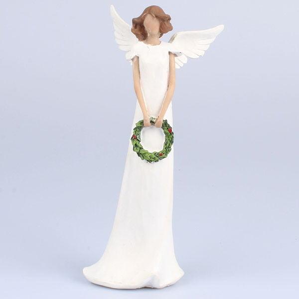 Anioł z wieńcem Dakls