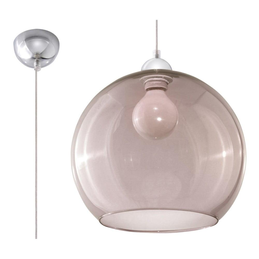 Szara lampa wisząca Nice Lamps Bilbao
