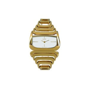 Zegarek damski Alfex 5669 Yelllow Gold/Yellow Gold