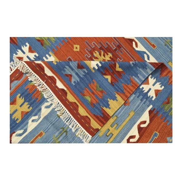 Dywan ręcznie wyszywany Bakero Kilim Classic Mix, 75x125 cm