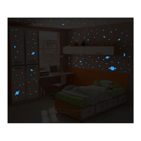 Zestaw 150 naklejek świecących Ambiance Universe