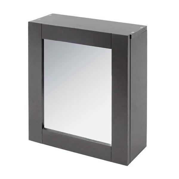 Lustro i szafka w jednym In Grey, 35x30 cm