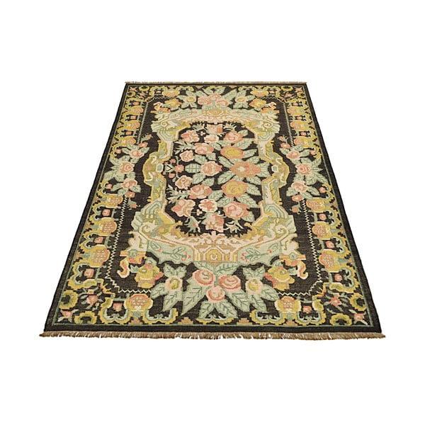 Ręcznie tkany dywan Kilim Floral No. 174, 155x240 cm
