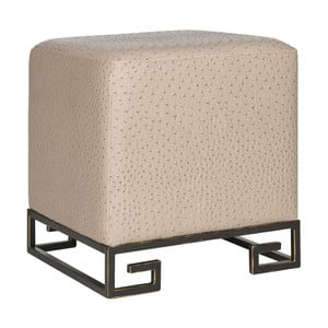 Taboret Cube Taupe