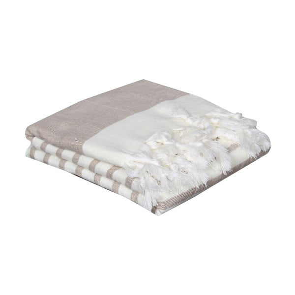 Ręcznik hammam Terry Brown, 95x170 cm