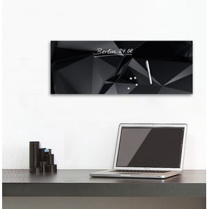 Tablica magnetyczna Eurographic Graphite Crystal, 30x80 cm