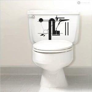 Naklejka Flush Mechanism