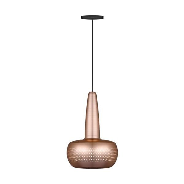 Matowa lampa wisząca w miedzianej barwie VITA Copenhagen Clava, Ø21,5cm