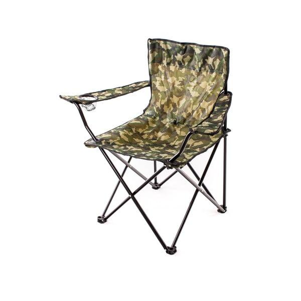 Krzesło wędkarskie Fish, moro
