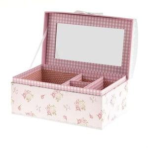 Pudełko na biżuterię Pink Retro
