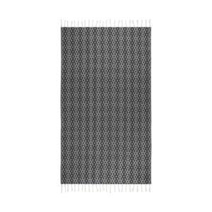 Ręcznik hammam Orient Black, 95x175 cm