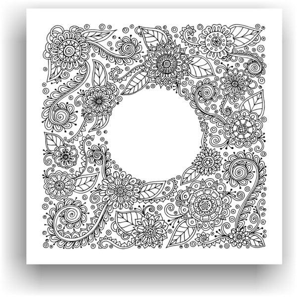 Obraz do kolorowania 78, 50x50 cm