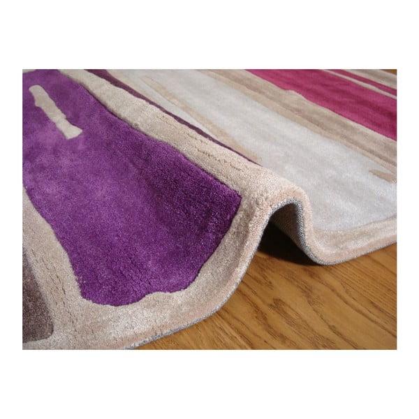 Dywan Paint Strokes Purple, 120x170 cm